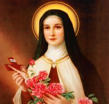 St. Little Flower,pray for Us..!